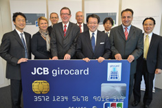 Photo of girocard ceremony