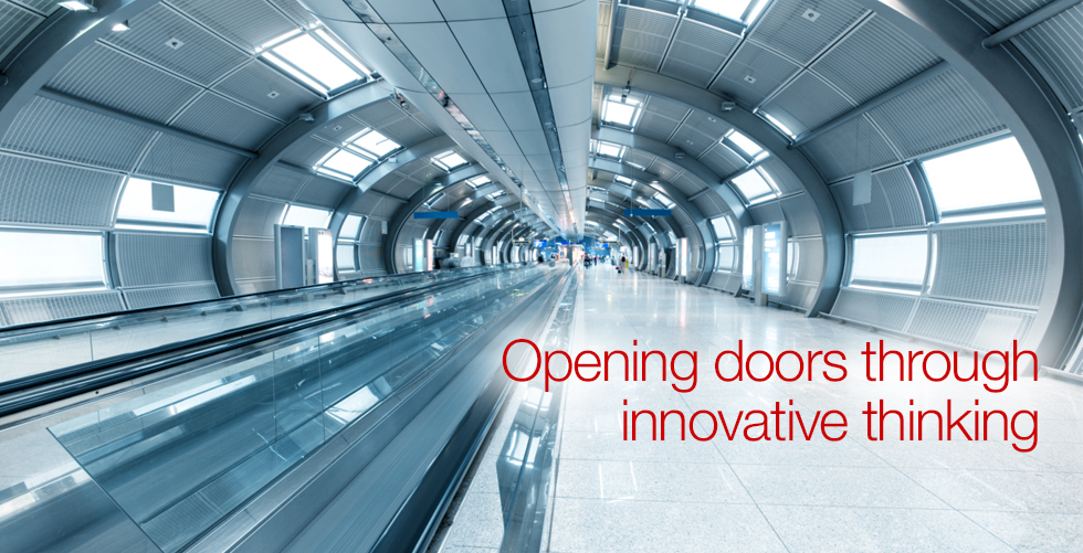 Opening doors through innovative thinking