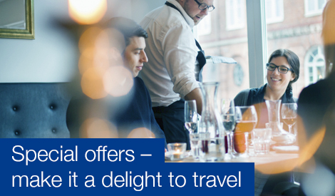 Special offers - make it a delight to travel